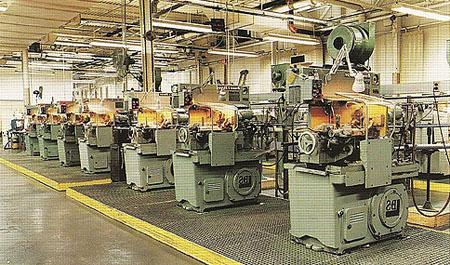 Производственное оборудование для изготовления саморезов