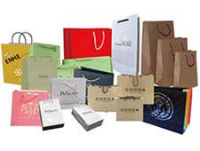 Бумажные пакеты на фото