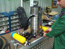 Процесс утилизации баллонов