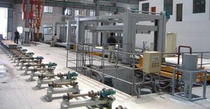 Линия по производству газобетона