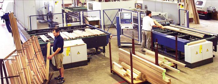 Технологические этапы производства деревянных окон
