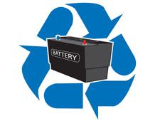 процесс утилизации аккумуляторов