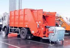Машина по вывозу мусора