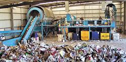 Переработка мусора на мини-заводе