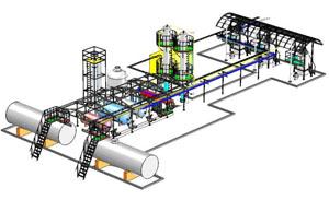 Процесс добычи и переработки нефти на мини-заводе