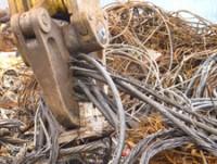 Переработка кабельных отходов