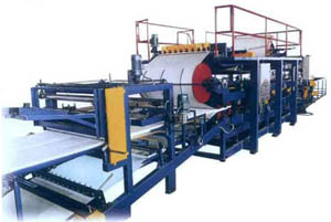 Автоматическое производство сэндвич-панелей
