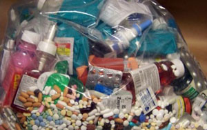 Способ осуществления утилизации лекарственных препаратов