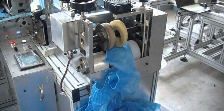 Производственное оборудование для изготовления бахил
