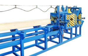 Технологический станок для изготовления профилированного бруса