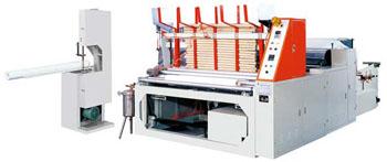 Станок для производства туалетной бумаги и его составляющие элементы