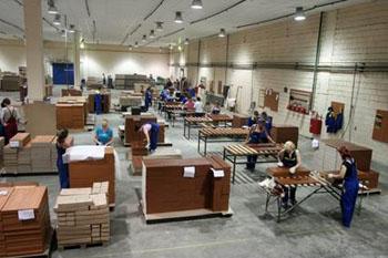 Изготовление мебели. Характеристики производственных процессов